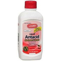 Cardinal Health Leader Antacid Liquid Suspension