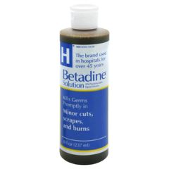 Betadine Solution - 16 oz Iodine