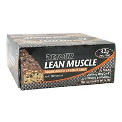 Detour Forward Foods Detour Lean Muscle Whey Protein Bar - Cookie Dough Caramel Crisp
