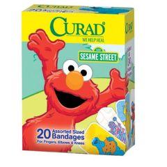 CURAD Sesame Street Adhesive Bandages
