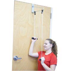 Cando Overdoor Shoulder Pulley - Double Pulley With Door Bracket