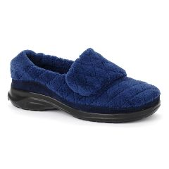 Oasis Women's Terry Navy Diabetic Shoe