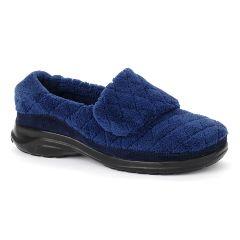 Oasis Footwear Oasis Women's Terry Navy Diabetic Shoe