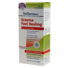 TriDerma Eczema Fast Healing Cream - 2.2 oz tube