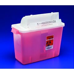 Invacare Supply Group SharpStar In Room Sharps Containers with Counter Balanced Lid