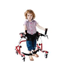 "Fabrication Star Posterior Gait Trainer, Pediatric, Width 23.5"", Height 22""-28"""