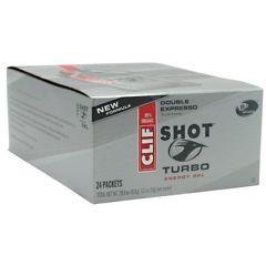 Shot Turbo Clif Shot Turbo Energy Gel - Double Expresso