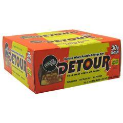 Detour Forward Foods Detour Deluxe Whey Protein Energy Bar - Caramel Peanut