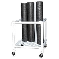 "Cando Foam Roller - Accessory - Upright Storage Rack - 24""W X 34""D X 30""H"