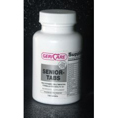 McKesson Gericare Senior-Tabs Multivitamin Supplement with Minerals Tablets
