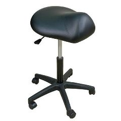 "Oakworks  Premium Saddle Stool 19""-25""H"