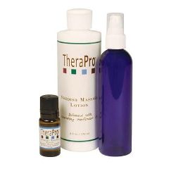 TheraPro Stress Relief Aromatherapy Lotion Massage Package