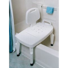Bath + Safe Adjustable Transfer Bench