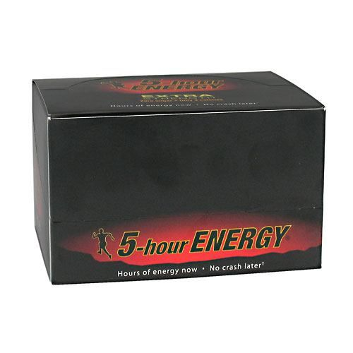 Living Essentials 5-Hour Energy Extra Strength - Berry Model 171 584098 01 Pack of 12
