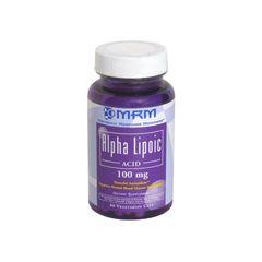 MRM Alpha Lipoic Acid, 100 Mg, Vegetarian Caps - 60
