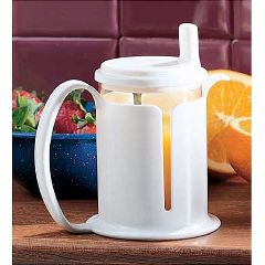 Cup with Holder & Lid
