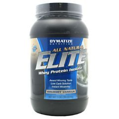 All Natural Elite Dymatize All Natural Elite Whey Protein Isolate - Gourmet Vanilla