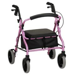 "Zoom Rolling Walker - 18"" Seat Height"