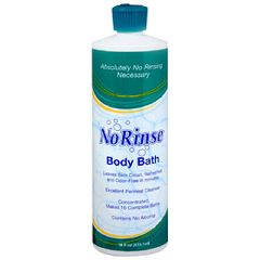 No Rinse Liquid Body Bath