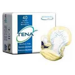 TENA Day Plus Pad - Moderate to Heavy Absorbency, Non-Adhesive