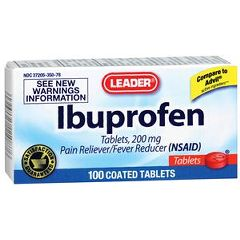 Cardinal Health Leader Ibuprofen Tablets