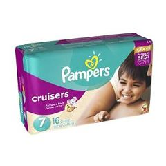 Cardinal Health Pampers Cruisers Diapers Size 7