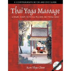 Simon And Schuster Thai Yoga Massage Book With DVD