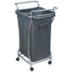 B&S Beauty Supply Laundry Trolley - Black