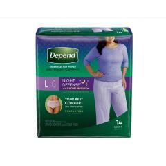 Depend Night Defense Absorbent Underwear