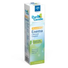 Medline Pure & Gentle Disposable Mineral Oil Enema