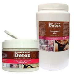 Extended Vacation Desert Mineral Detox Body Scrub