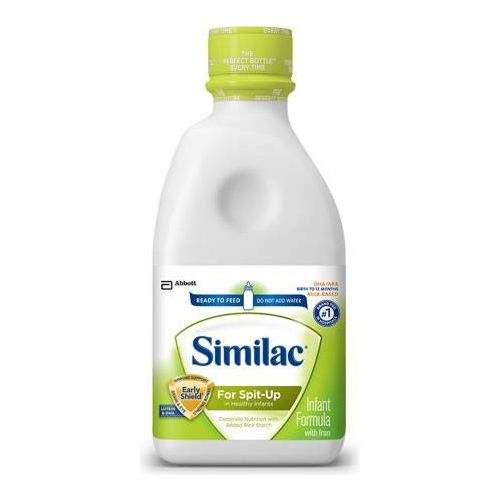 Invacare Supply Group Similac Sensitive For Spit Up Ready To Feed Infant Formula
