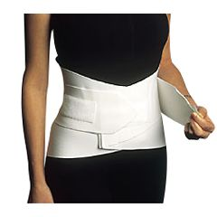 "Back Support - 10"" Double Closure Lumbosacral Belt"