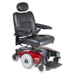 Invacare Pronto M51 Power Wheelchair - Semi-Recline 20x18 Red