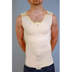 Zippered Male Gynecomastia Vest (Full Body)