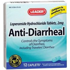 Cardinal Health Leader Anti-Diarrheal Caplets 12 Count