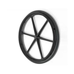 "New Solutions X-Core 6 Spoke Wheels - 24 x 1"" - Hub Type: 1/2"" Precision Bearings"