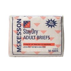 StayDry Adult Briefs - Moderate to Heavy Absorbency