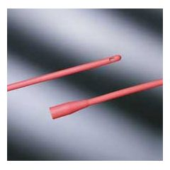 Bard Red Rubber Intermittent Catheter - 16""