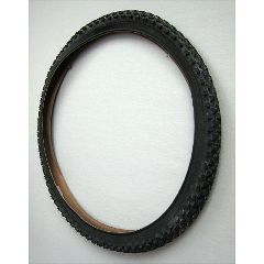 New Solutions High Performance Primo Agreesive Black Knobby Tire - 25 x 1.95