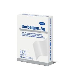 "Sorbalgon®  Ag Silver Calcium Alginate - 2""x2"""