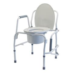 Graham Field Drop Arm Commode