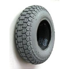 "New Solutions Gray Pneumatic Tire - 13 x 4"" (410 x 350-6)"