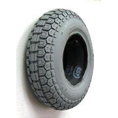 "Gray Pneumatic Tire - 13 x 4"" (410 x 350-6)"