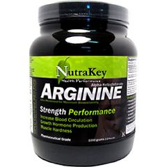 Nutrakey Arginine Strength Performance Supplement 1000 gram