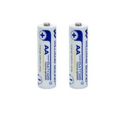 Williams Sound BAT 026 AA NiMH Rechargeable Batteries 2 Count