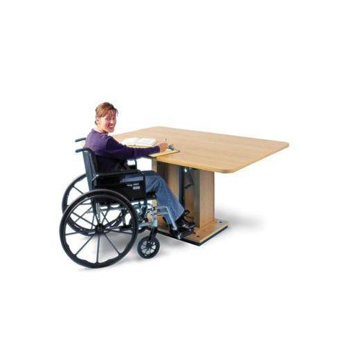 """Hausmann Hydraulic Lift Table, 60""""L x 36""""W x 29-43""""H Model 886 0410"""