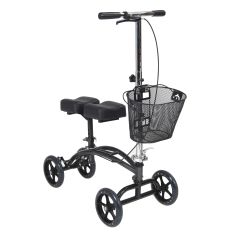 Drive Dual Pad Steerable Knee Walker/Knee Scooter with Basket