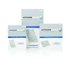 ACTISORB Silver 220 Antimicrobial Binding Dressing - 4.2 x 7.6""