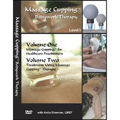 Advance Clocks Massage Cupping Therapy Bodywork Vol. I & II DVD